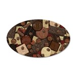 Got Chocolate? 35x21 Oval Wall Decal