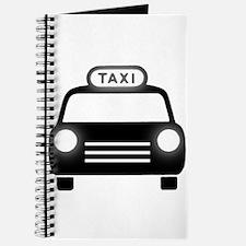 Cartoon Taxi Cab Journal