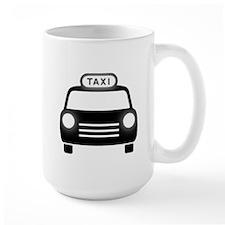 Cartoon Taxi Cab Mug