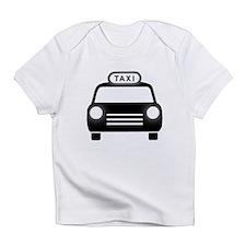 Cartoon Taxi Cab Infant T-Shirt