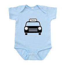 Cartoon Taxi Cab Body Suit