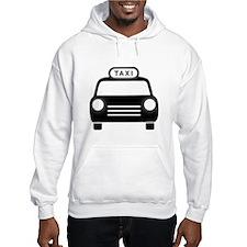 Cartoon Taxi Cab Hoodie