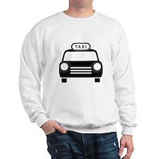 Cartoon Taxi Cab Sweatshirt
