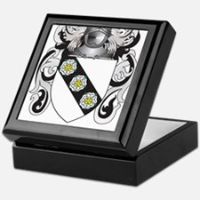 Cary Coat of Arms Keepsake Box