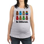 Be Different Ducks.png Maternity Tank Top