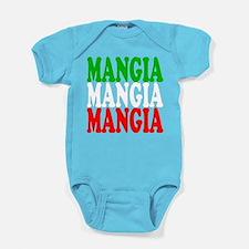 Mangia, Mangia, Mangia Baby Bodysuit