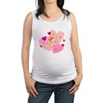 cute little cupid.jpg Maternity Tank Top