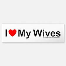 My Wives Bumper Bumper Sticker