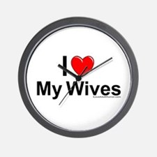 My Wives Wall Clock