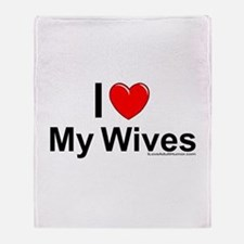 My Wives Throw Blanket