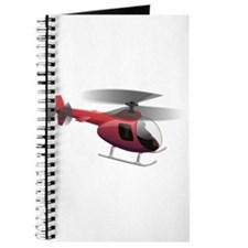 Cartoon Helicopter Journal
