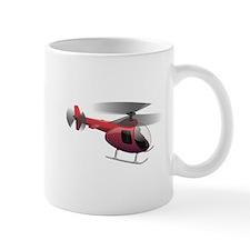 Cartoon Helicopter Mug