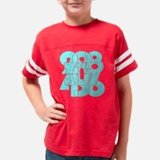 Cute Wtd 3 of 4 character series Youth Football Shirt