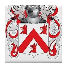 Casey Coat of Arms Tile Coaster