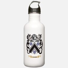 Cash Coat of Arms Water Bottle