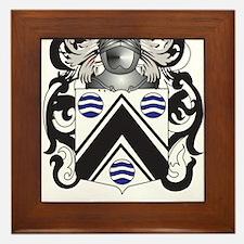 Cash Coat of Arms Framed Tile