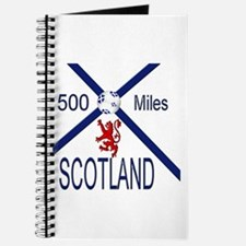 Scotland Football 500 Miles Journal