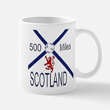 Scotland Football 500 Miles Mug
