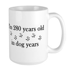 40 birthday dog years 4-2 Mug