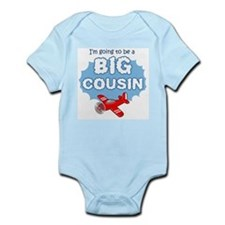 Big Cousin to be - Airplane Body Suit