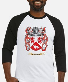 Cassidy Coat of Arms Baseball Jersey