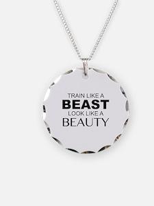 Train Like A Beast Look Like A Beauty Necklace