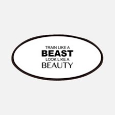 Train Like A Beast Look Like A Beauty Patches