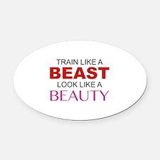 Train Like A Beast Look Like A Beauty Oval Car Mag