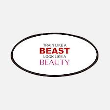 Train Like A Beast Look Like A Beauty Patches