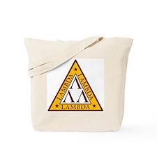 """""""Tri-Lambda"""" Tote Bag"""