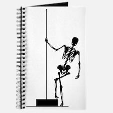 funny skeleton pole dancer Journal