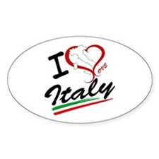 I love Italy Decal