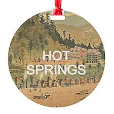 ABH Hot Springs Ornament