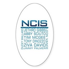 NCIS Logo & Characters Names Decal