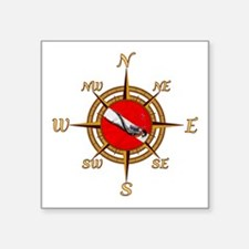 Dive Compass Sticker