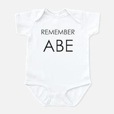 Remember Abe Infant Bodysuit