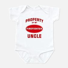 UNCLE Firefighter-Property Infant Bodysuit