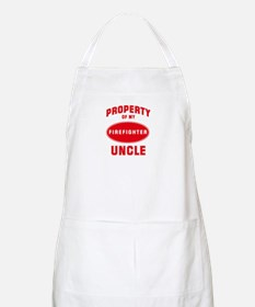 UNCLE Firefighter-Property BBQ Apron
