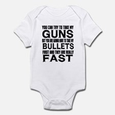 Fast Bullets Infant Bodysuit