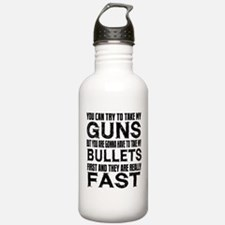 Fast Bullets Water Bottle