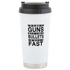 Fast Bullets Travel Mug