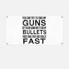 Fast Bullets Banner