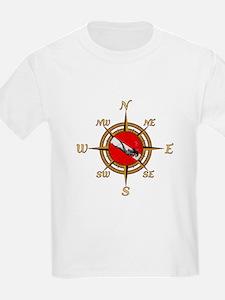 Dive Compass Woman T-Shirt