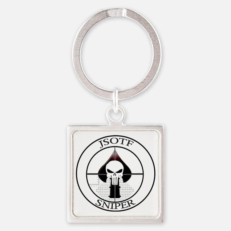 JSOTF Sniper Square Keychain