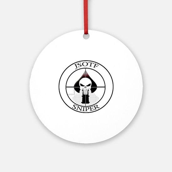 JSOTF Sniper Round Ornament