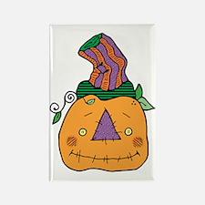 cute prim autumn pumpkin Rectangle Magnet