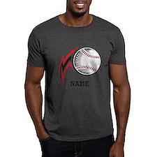 Personalized Baseball Pitch T-Shirt