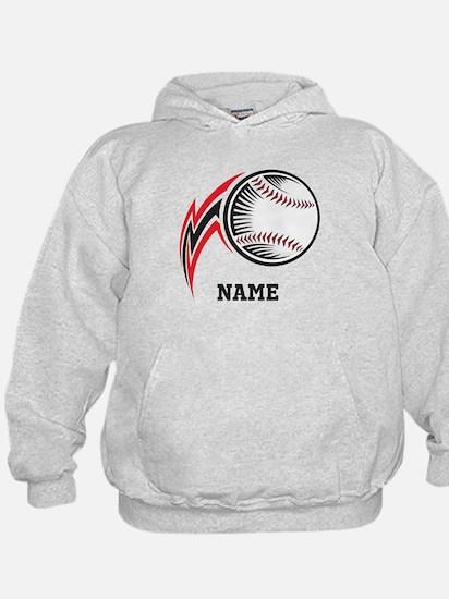 Personalized Baseball Pitch Hoodie