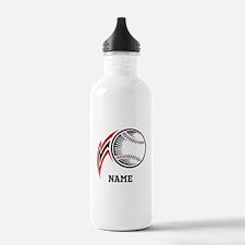 Personalized Baseball Pitch Water Bottle