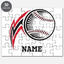 Personalized Baseball Pitch Puzzle